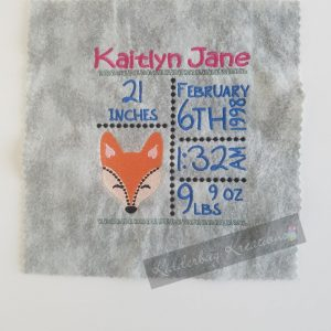 Fox birth stats announcement