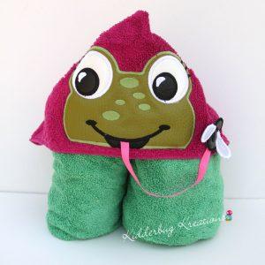 Frog Hooded Towel