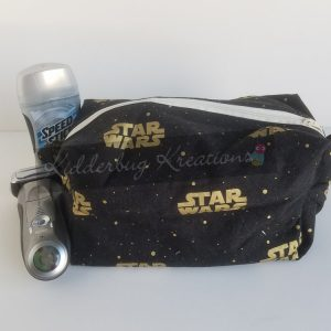 Star Wars fabric dopp bag