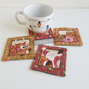 Gingerbread Christmas Coasters