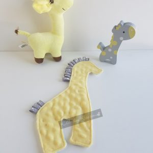 Giraffe Shaped Sensory Blanket
