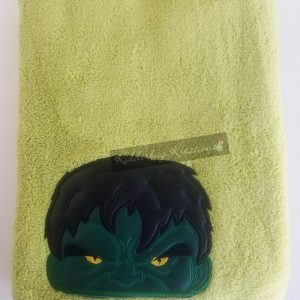 Green monster towel