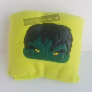 Green Monster Fleece Blanket