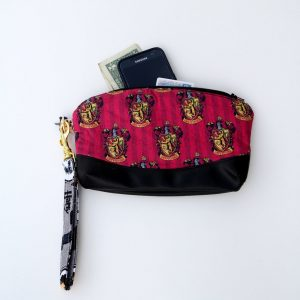 Harry Potter Gryffindor Fabric Clutch Purse
