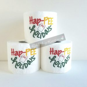 Hap-pee Holidays Toilet Paper