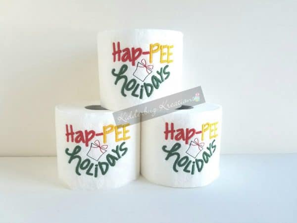 Hap-pee Holidays Toilet Paper