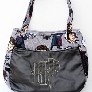 Harry Potter Embroidered Fabric Purse
