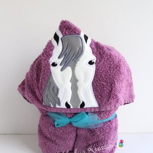 Horse Hooded Towel