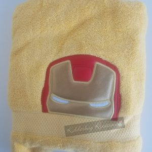Iron hero towel