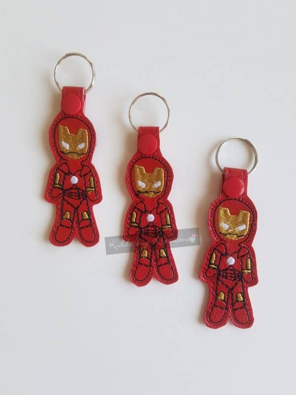 Iron Hero Keychain