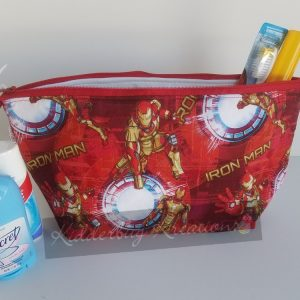 Iron Man make up bag