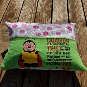 Ladybug Reading Pillow