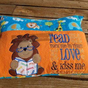 Lion Read Me a Story Reading Pillow
