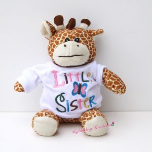 Little Sister Giraffe Stuffed Animal