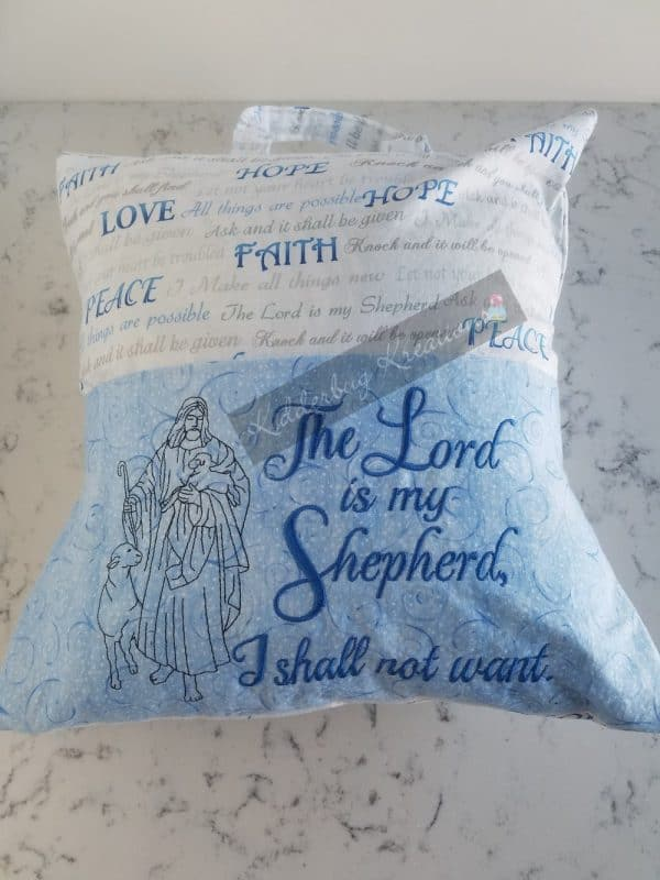 """The Lord Is My Shepherd"" Reading Pillow"