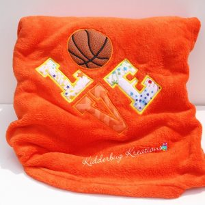 Love Basketball Blanket
