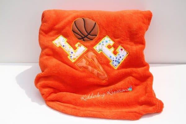 Love Basketball Blanket