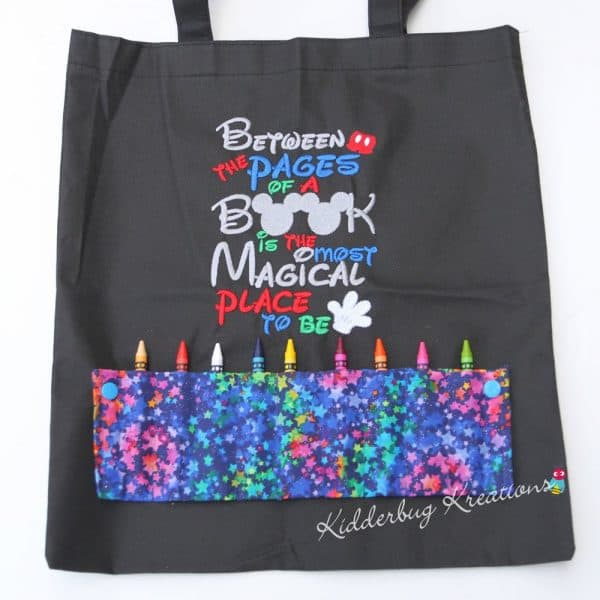 Magical Place Coloring Bag
