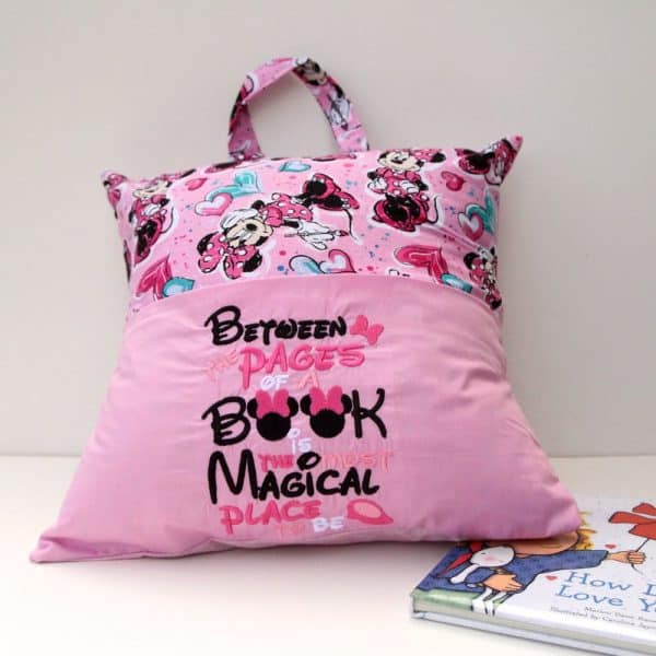 """""""Magical Place to Be"""" Reading Pillow"""
