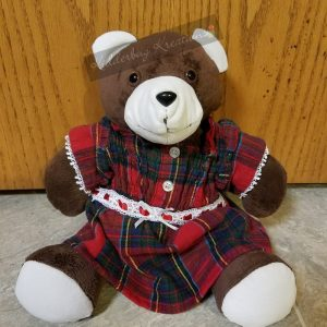 Memory Bear with Clothing from Your Loved One