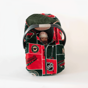 MN Wild Infant Car Seat Cover