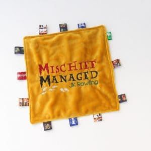 Mischief Managed Sensory Blanket