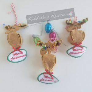 Chris Moose Ornament