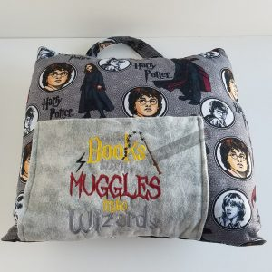 Muggles and Wizards Reading Pillow