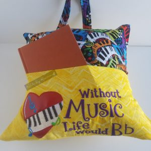 Music Reading Pillow