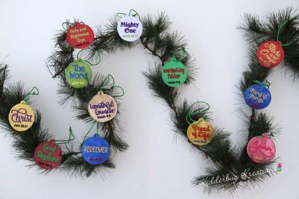 Names of God Advent Ornaments Pre-order