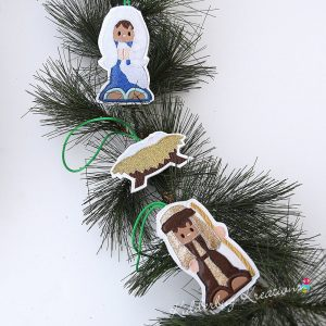 Nativity Ornaments Pre-order