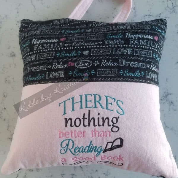 """Nothing Better"" Reading Pillow"