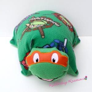 Orange Turtle Pillow Pal