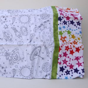 Outer Space Coloring Pillowcase