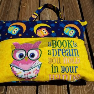 Owl Reading Pillow