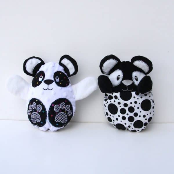 Peekaboo Panda Stuffed Animal