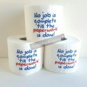 Paperwork Toilet Paper