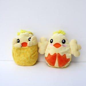 Peekaboo Chick Stuffed Animal
