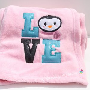 Love Penguin Blanket