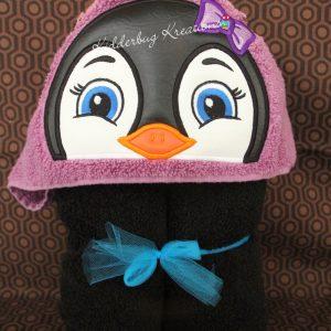 Penguin Hooded Towel