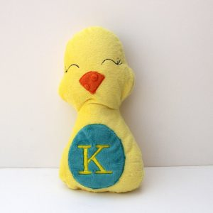 Personalized Chick Stuffed Animal