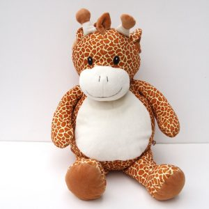 Giraffe Personalized Stuffed Animal