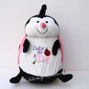 """Cute as a Bug"" personalized ladybug"