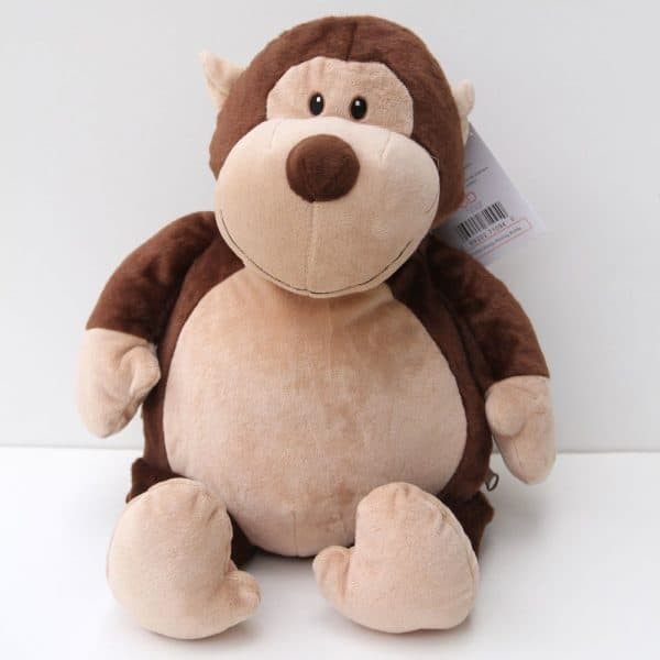 Monkey Personalized Stuffed Animal