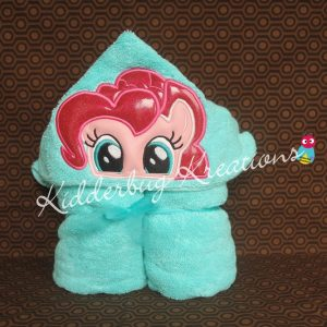Pink Pony Hooded Towel