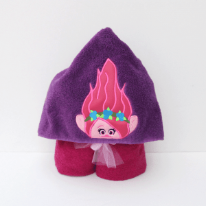 Pink Troll Hooded Towel
