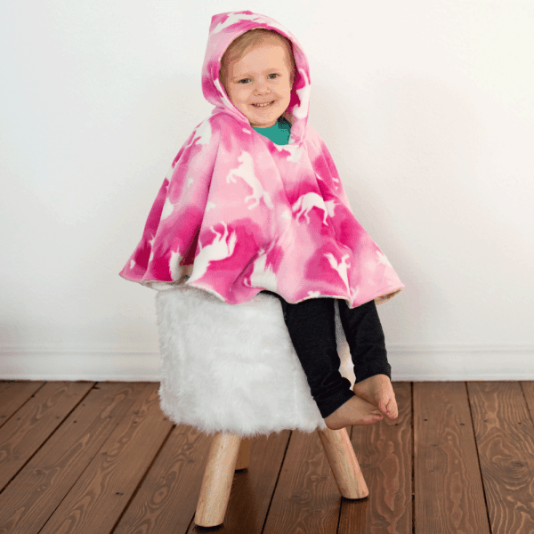 Unicorn Car Seat Poncho