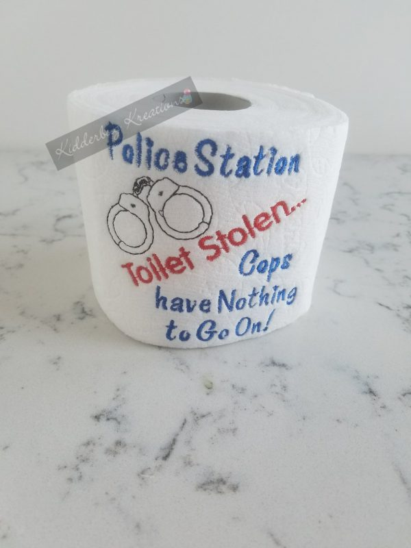 Police Station Toilet Paper