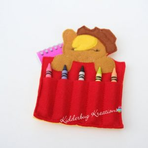 Pony Crayon Holder
