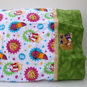 Popcorn Girl Pillowcase
